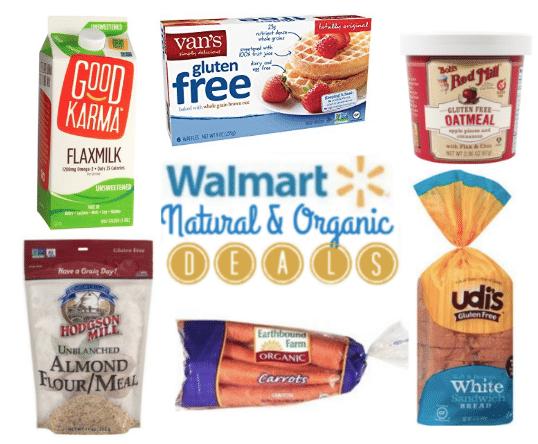 Walmart Natural Organic Coupon Matchups July 2018