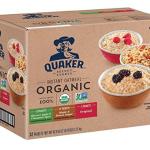 quaker organic oatmeal