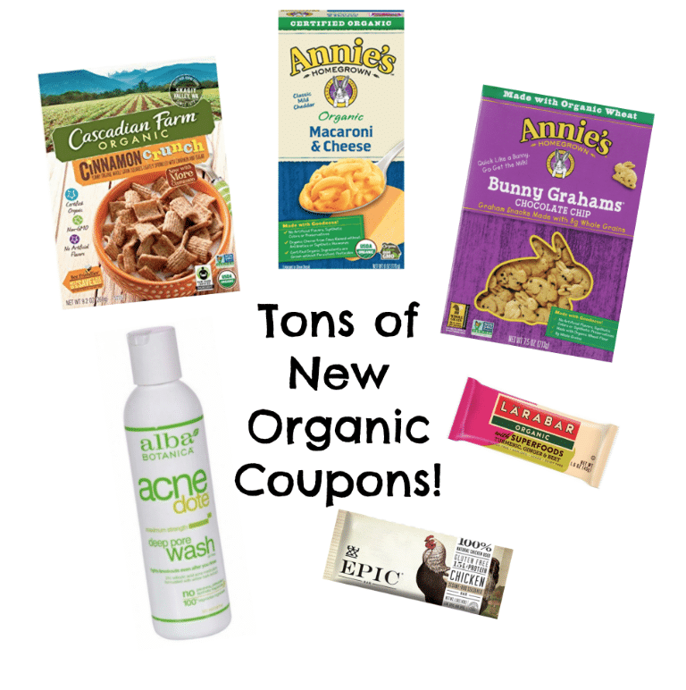 MANY New Printable Organic Coupons- August 2018 (Best Month