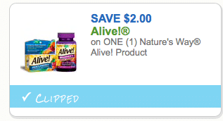 photo about Alive Printable Coupon identified as $2 Natures Course Vitamin Coupon- $4.96 Childrens Multi Gummy