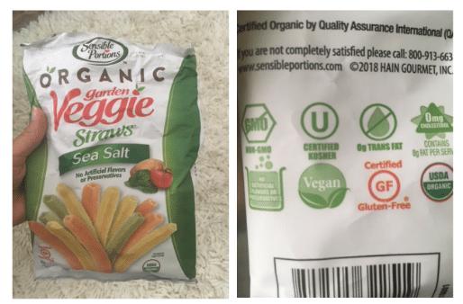 Organic Veggie Straws Coupons