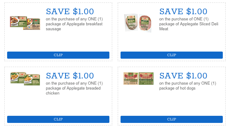 APPLEGATE COUPONS 2019