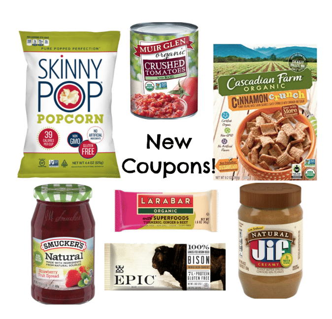 Organic, Natural, Healthy coupons 9/18