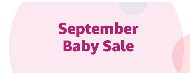 Amazon Baby Products Sale