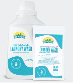 mygreenfills laundry detergent