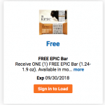 Free Epic Bar Kroger