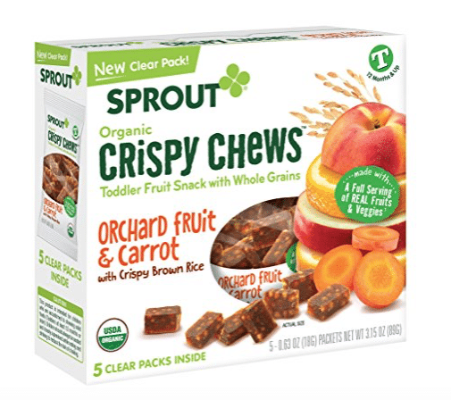 Sprout fruit snacks