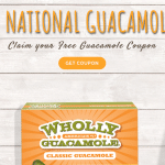 free wholly guacamole coupon