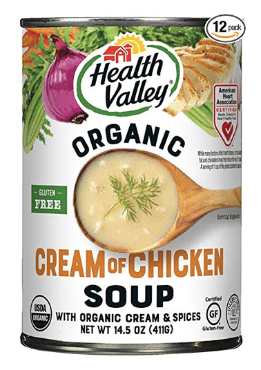 Healthy Valley Organic Cream of Chicken