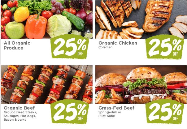 Fresh Thyme 25% Organic Sale