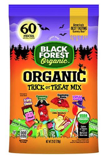 Organic Halloween Candy