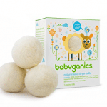 BabyGanics wool dryer balls