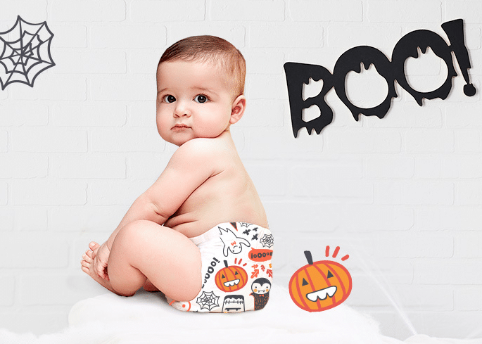 Honest Co. Halloween Diaper Prints
