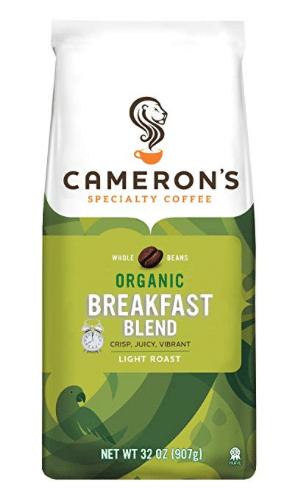 Cameron's organic coffee