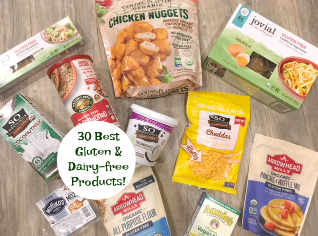 Top 30 Best Gluten & Dairy-free Food Products