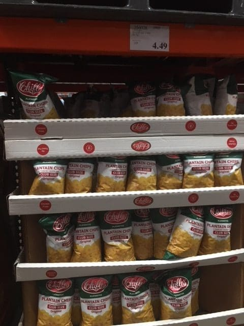 Great Price on Plantain Chips at Costco - All Natural Savings