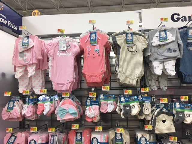 dd3095de5 Large Selection of Gerber Organic Baby Clothes at Walmart - All ...