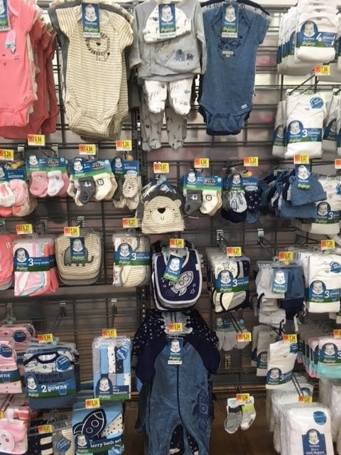 Large Selection Of Gerber Organic Baby Clothes At Walmart All