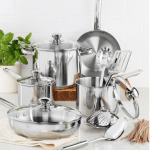Macy's stainless steel cookware
