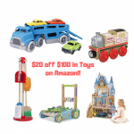 $20 off $100 in Toys on Amazon!!