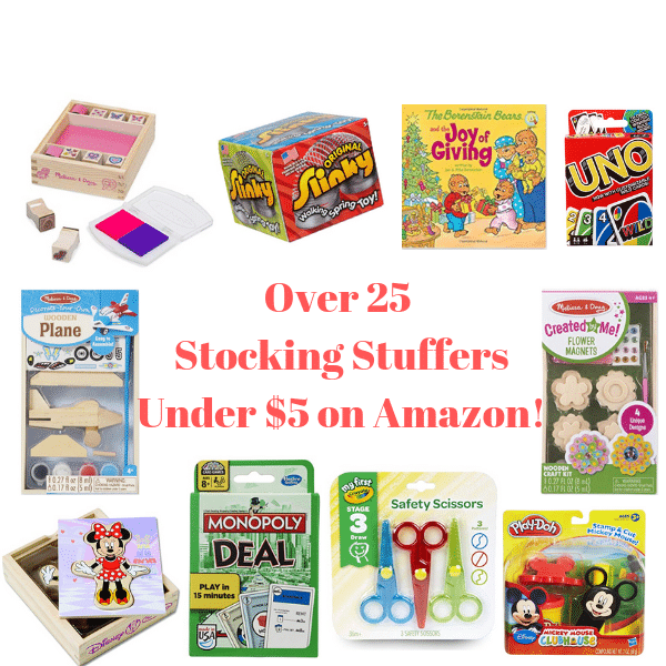 Over 25 Black Friday Stocking Stuffer Deals 5 Or Under On Amazon All Natural Savings