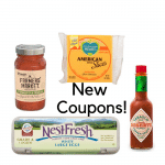 New organic Coupons!