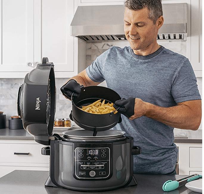 Ninja Foodi Discount On Amazon Air Fryer Pressure Cooker In One