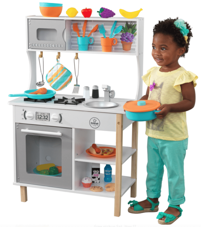 Early Black Friday Deal On Kidkraft Play Kitchen With Play