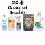 30% off cleaning and household Amazon