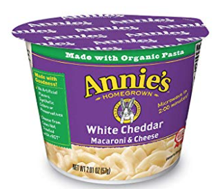 annies Mac and cheese cup