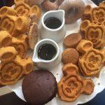 gluten-free Mickey waffles