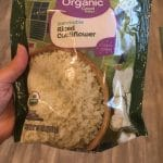 organic riced cauliflower Walmart