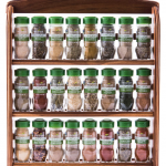 mccormick organic spice rack