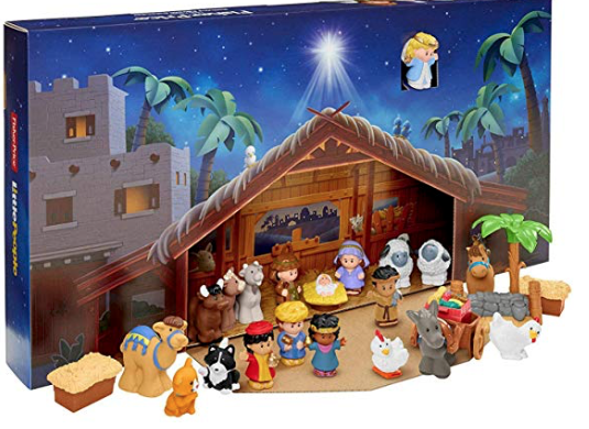 Possible 8 99 Melissa And Doug Wooden Advent Calendar And