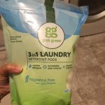 grab green laundry detergent