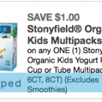 stonyfield organic yogurt coupon 2020