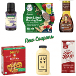 new organic coupons September 2020