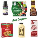 new organic coupons September 2020