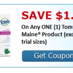 tom's of Maine coupon